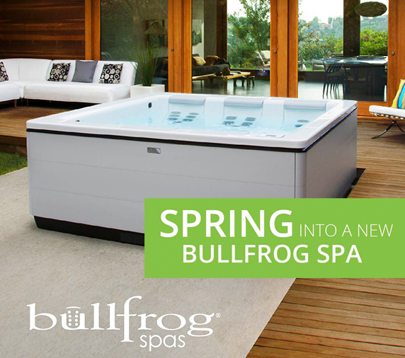 Bullfrog Spring into a Spa Sale