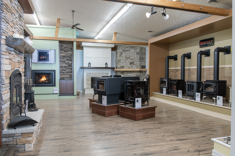 Grand Traverse Leisure Fireplace Showroom